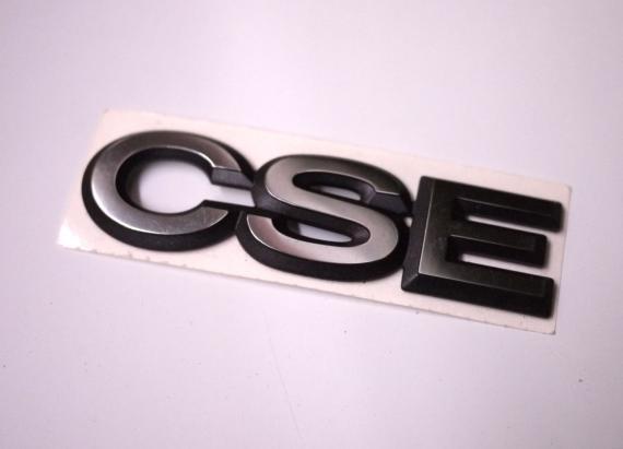 """Liimattava merkki """"CSE"""""""