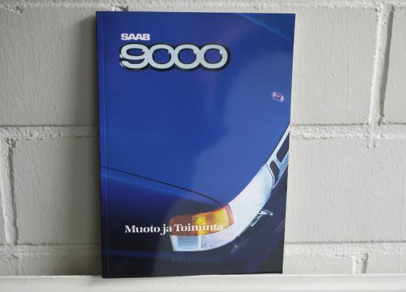 Saab 9000 Muoto ja Toiminta -kirja