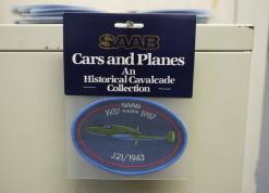 Cars and Planes -kangasmerkki, vihreä