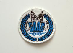 Kangasmerkki Saab-klubin logolla, 75mm