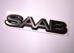 """Liimattava merkki, """"SAAB"""""""