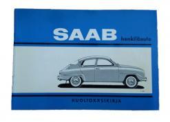 Vuoden 1964 Saabin sininen ohjekirja